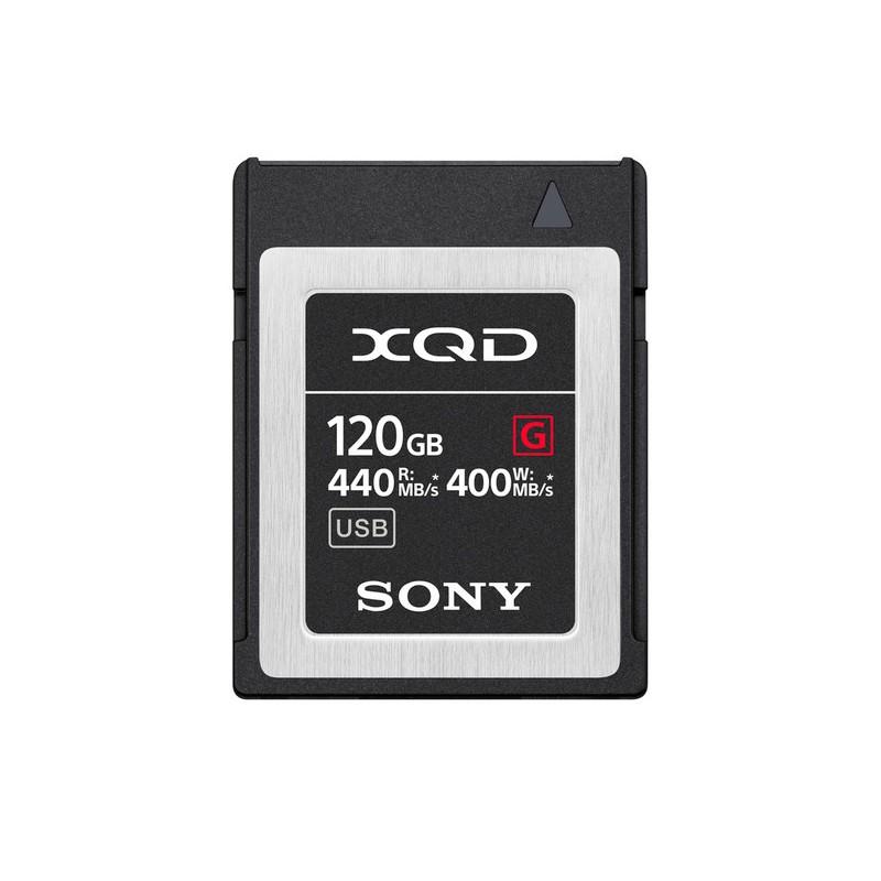 SONY XQD 120G SERIE G 400 MB/s QD-G120F