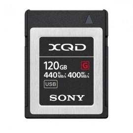 SONY XQD 120GB SERIE G 400 MB/s QD-G120F