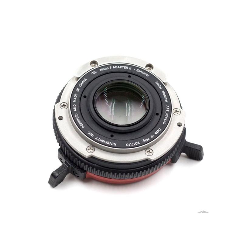 Kinefinity Nikon F Mount Adapter II con KineEnhancer