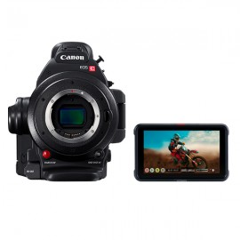 Kit Canon EOS C200 + Atomos NINJA V Power Kit