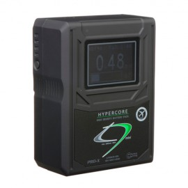 CoreSWX 98wh, 14.8v 6.6Ah V-Mount Hi-Draw Li-ion Battery Brick with Backlit LCD and Fuel Gauge