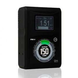 CoreSWX 150wh, 14.8v 10.6Ah V-Mount Hi-Draw Li-ion Battery Brick with Backlit LCD and Fuel Gauge