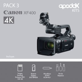 PACK 3 Canon XF400