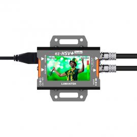 Lumantek ez-HSV+ Convertidor HDMI a SDI con pantalla