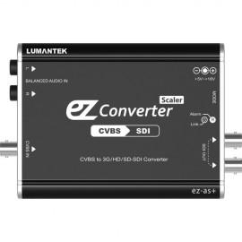 Lumantek ez-AS+ Convertidor CVBS a 3G/HS/SD-SDI con escalador