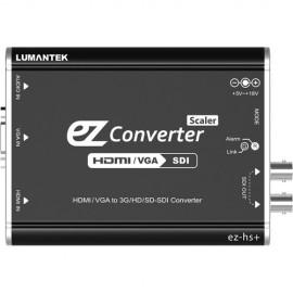 Lumantek ez-HS+ Convertidor HDMI/VGA a 3G/HS/SD-SDI con escalador