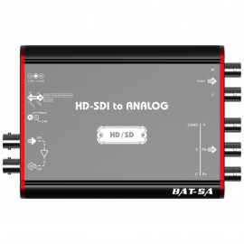 Lumantek BAT-SA Convertidor HD-SDI a Analog