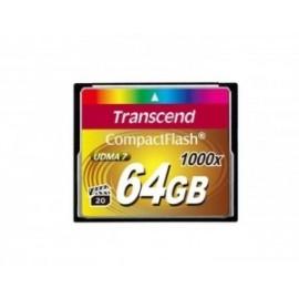 TARJETA COMPACT FLASH TRANSCEND TS64GCF1000