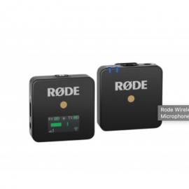 Rode Wireless GO Sistema de Micrófono Inalámbrico Compacto