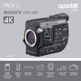 PACK 2 SONY FS5 M2