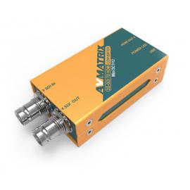 AVMATRIX Mini SC1112 3G-SDI a HDMI Mini convertidor