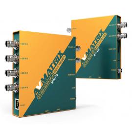 AVMATRIX MV0430 Multiviewer SDI de 4 canales
