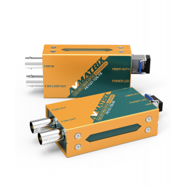 AVMATRIX FE1121-12G 12G-SDI Extensor de fibra óptica