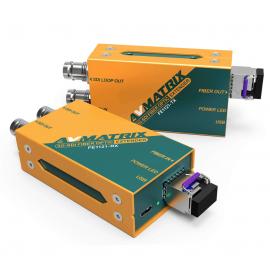 AVMATRIX FE1121 Extensor de fibra óptica 3G-SDI