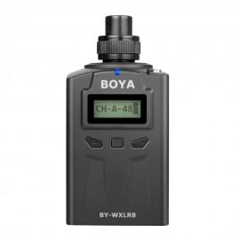 Boya Transmisor inalámbrico UHF Pro enchufable WXLR8PRO