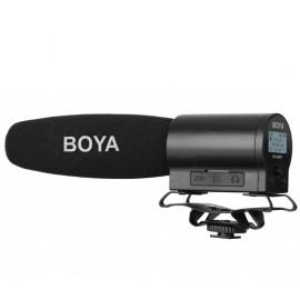 Boya Micrófono de cañon grabador BY-DMR7