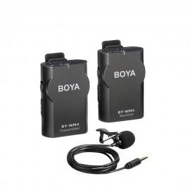 Boya Kit Micrófono lavalier inalámbrico BY-WM4