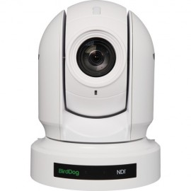 BirdDog Eyes P200 1080P Full NDI PTZ Camera con Sony Sensor y HDMI / 3G-SDI (Blanco)