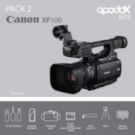 Pack 2 - Canon XF100
