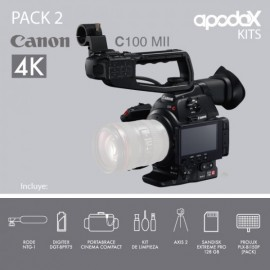 Pack 2 - Canon C100 Mark ii
