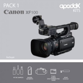 Pack 1 - Canon XF100