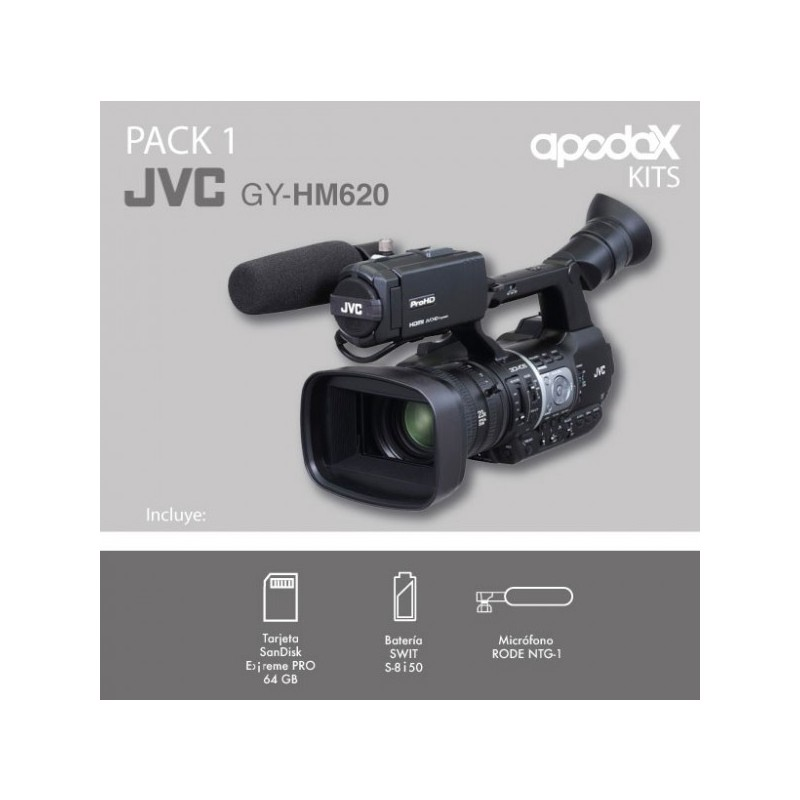 Pack 1 - JVC - GY-HM620
