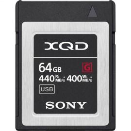 SONY XQD 64GB SERIE G 400 MB/s QD-G64E
