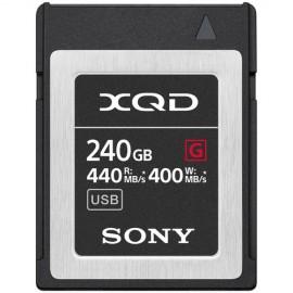 SONY XQD 240GB SERIE G 400 MB/s QD-G240F