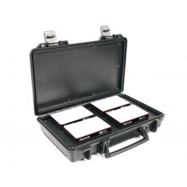 Aputure Kit de viaje AL-MC de 4 luces con estuche de carga