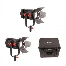 CAME-TV F-100S Boltzen 100w Fresnel Focusable LED Bi-Color (Kit de 2 luces)