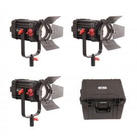 CAME-TV F-100S Boltzen 100w Fresnel Focusable LED Bi-Color (Kit de 3 luces)