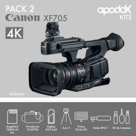 Pack 2 Canon XF705
