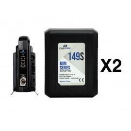 Pack 2 Digitex Mini Series DGT-BP149s + DGT-BP2