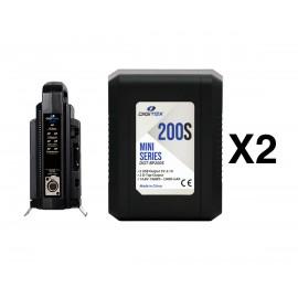 Pack 2 Digitex Mini Series DGT-BP200s + DGT-BP2