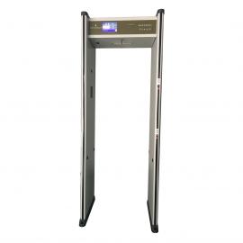 Arco detector de metal y altas temperaturas COVID-19