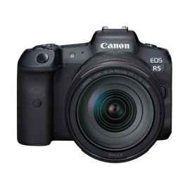 Canon EOS R5 Mirrorless Camara Digital con lente RF 24-105mm f/4L
