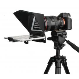 Desview T2 Teleprompter portátil para Smartphone, Tableta y Cámara DSLR