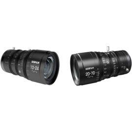 Paquete de lentes de cine parafocales DZOFilm DZO 10-24 mm y 20-70 mm T2.9 MFT