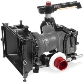 "SHAPE Cage Kit with Matte Box, Follow Focus & 10"" 15mm Rods for BMPCC 6K & 4K"