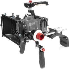 "SHAPE Cage Kit with Matte Box, Follow Focus, Shoulder Mount & 18"" 15mm Rods for BMPCC 6K & 4K"