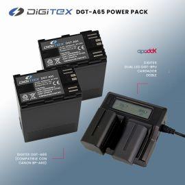 Pack 2 baterías DGT-A65 + Cargador Doble Digitex