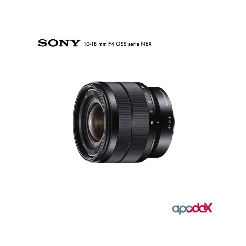 SONY 10-18 mm F4 OSS serie NEX