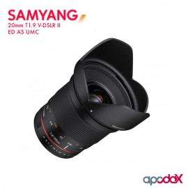 SAMYANG 20mm T1.9 V-DSLR II ED AS UMC
