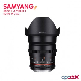 SAMYANG 24mm T1.5 V-DSLR II ED AS IF UMC