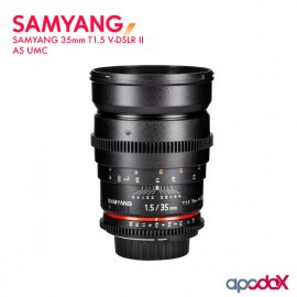 SAMYANG 35mm T1.5 V-DSLR II AS UMC