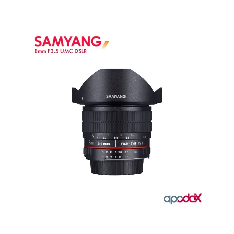 SAMYANG 8mm F3.5 UMC DSLR