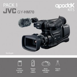 PACK 1 - JVC GY-HM70