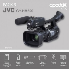 PACK 3 - JVC GY-HM620