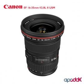 ALQUILER CANON EF 16-35mm f/2.8L II USM.
