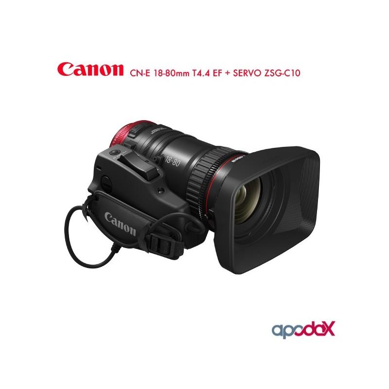 CANON CN-E 18-80mm T4.4 EF + SERVO ZSG-C10